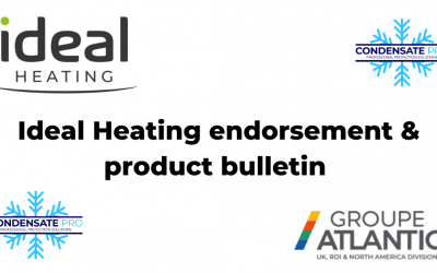 Ideal Heating endorsement & product bulletin